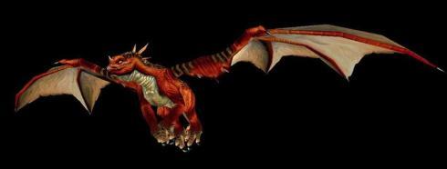 A red drake.