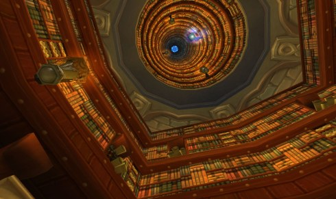 The Flying Book in the Scribe's Library
